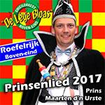 Prinsenlied Prins Maarten
